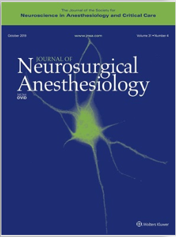 Journal of Neurosurgical Anesthesiology